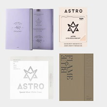 【2018 ASTRO Special Single Album】【Winter Dream】【ONE ONLY SPECIAL SINGLE ALBUM】【BLUE FLAME】