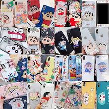 更新中韓国クレヨンしんちゃん漫画携帯電話iPhone11ProMaxケーススマホケースiPhoneXrケースiPhoneXsケースiPhoneX XsMax 6/7/8Plus Airpodsケース