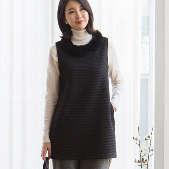 マダムグレースV20324アルネポベセクベストsize66、77、88、99 ニット/セーター/ニット/韓国ファッション