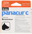 (犬 ヘルスケア) Panacur C Canine Dewormer Net Wt. 12 Grams Package Contents Three 4 Gram Packets