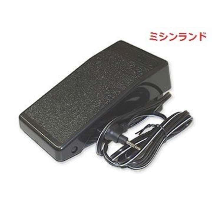 ジャノメフットコントローラー1P CX11 RS808 ME830 DC2020 JP210MSE JP310 JN51 JN31用 コンピューター用[YC485](黒)