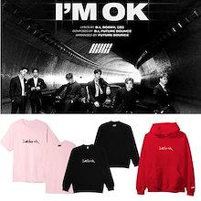 新入荷韓国 iKON NewKidsのAM OK応援男女兼用パーカー/iKON NewKids応援グッツ/韓国ファッションTシャツ、パーカー
