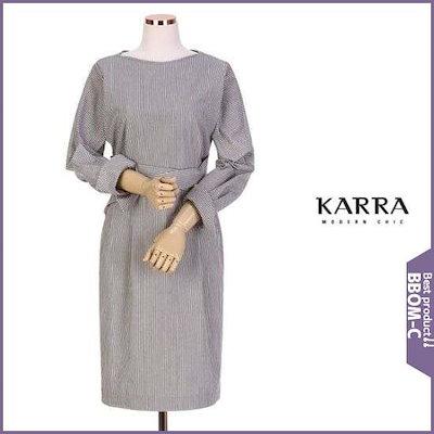 [カラー][ハーフクラブ/カラ]KARRA COLLECクロスベルティドゥジュル至宝トゥネクワンピースKB9SOP025 /ワンピース/綿ワンピース/韓国ファッション