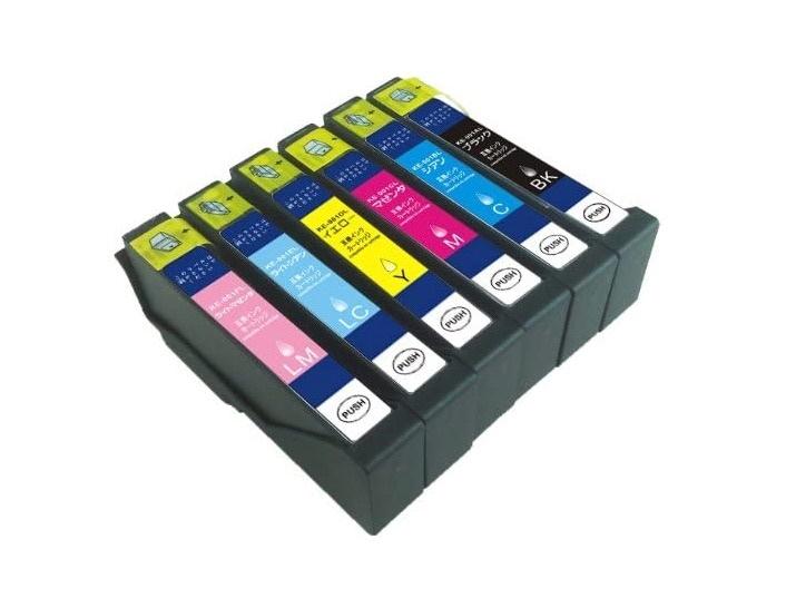 エプソン IC70L (IC6CL70L) 互換インク 増量タイプ 6色セット IC70 EPSON