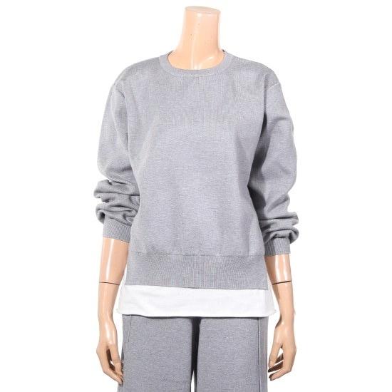 提示、ニューヨーク二重マンツーマンティーシャツB815NVKO08501 / ニット/セーター/ニット/韓国ファッション