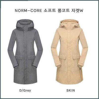 [ケイトゥ]NORM-COREソフト、ロングコートジャケットW(KWP18124) / 風防ジャンパー/ジャンパー/レディースジャンパー/韓国ファッション