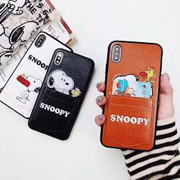 SNOOPY iPhone Xケース iPhone8Plusケース iphone7 Plusケース iphone6 ケース あいふぉん7ケース あいふぉん6ケースXs Maxケース