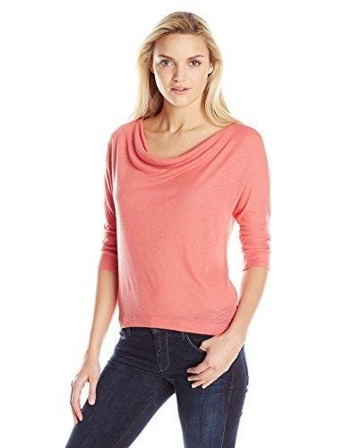 Splendid Womens 3/4 Sleeve Slouch Top, Sienna, Small