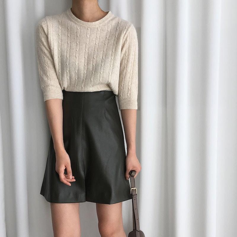 プレッツェルニット4col korea fashion style