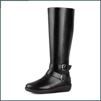 [ピップルラプ]ノエミダブルのバックルブーツFFSO8F712ブラック /ブーツ/ウォーカー/アンクルブーツ/ブーツ/韓国ファッション