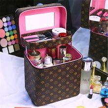 大容量メイクボックス コスメボックス 雑貨 小物入れ 持ち運び可 ネイル プロ 美容 大容量 アクセサリー 収納 化粧品 ジュエリーボックス