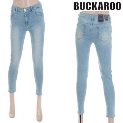 [AK公式ストア]【buckaroo jean】女性スキニーシャドウデニムジーンズ(B182DP517M)
