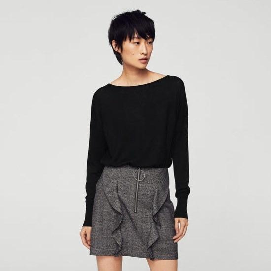 マンゴーMANGO派のニットセーターEsfera2301048399 / ニット/セーター/ニット/韓国ファッション