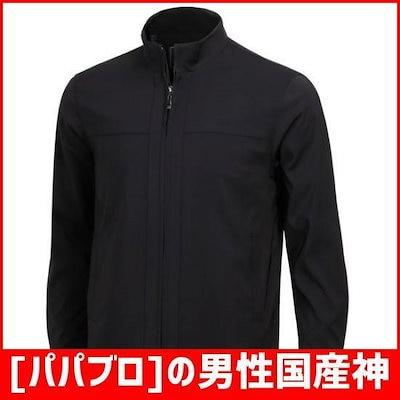 [パパブロ]の男性国産神社プルジプジャケットのジャンパー21C-JP8-SA-ブラック /風防ジャンパー/ジャケット/韓国ファッション