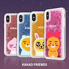 【Kakao friends】カカオフレンズ星影グリッターケース/Kakao friends star light glitter case/4種・Galaxy・iPhone