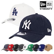 ニューエラ キャップ ヤンキース ドジャース メンズ レディース 帽子 NewEra 9TWENTY CAP MLB ベージュ ホワイト カーキ NY LA ロゴ メジャーリーグ ローキャップ