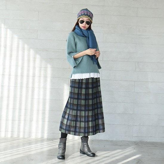ジュシパクシ晋州少女・ニット ニット/セーター/ニット/韓国ファッション