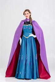 2c0a02595e6fd ハロウィン コスプレ コスチューム 衣装アナと雪の女王風 ドレス エルサ 大人 女性用コスチューム