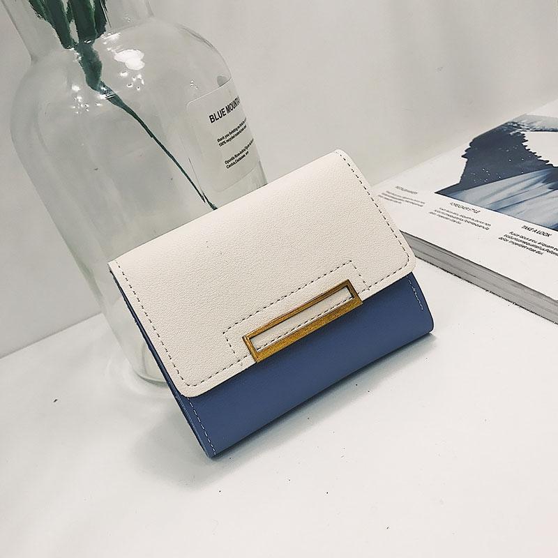 HoneyBag可愛い手のひらサイズ、ミニ財布 ミニ財布 小さい コンパクト レディース韓国ファッション 小銭入れ カード コインケース、折りたたみの小銭バッグCY2622