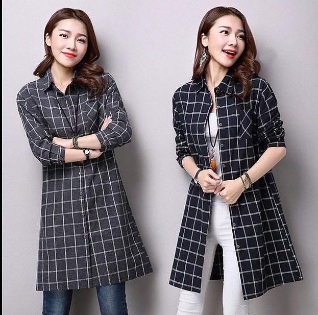 【大きいサイズM-2XL】春夏ファッションコート♪グレー/ブルー/ブラック3色展開/ レディース