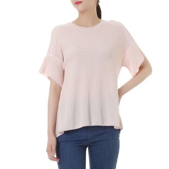 シスレーAラインシンプルなニートSAKP37631 ロングニット/ルーズフィット/セーター/韓国ファッション