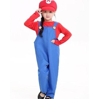 14569d66b33c62 [Qoo10] ハロウィン衣装 子供キッズ スーパーマリ : ホビー・コスプレ