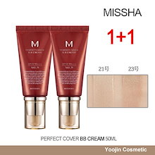 Time Sale!! MISSHA perfect cover bb cream 50ml1+1(21号/23号)パーフェクトカバーBBクリーム