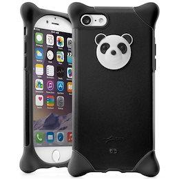2684722585 BoneCollection Phone Bubble 7/8 スマホケース パンダ ストラップ付き シリコン素材 2層式カバー