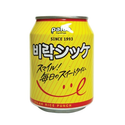 『paldo』ビラクシッケ|韓国甘酒(238ml・缶) 伝統飲料 韓国伝統茶 韓国茶 韓国飲料 韓国飲み物 韓国ドリンク 韓国食品