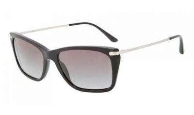 Giorgio Armani Womens Sunglasses Matte Black AR 8019 500111 Sz 56
