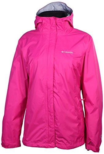 Columbia Womens Marys Peak Interchange Jacket-Pink/Black-Small
