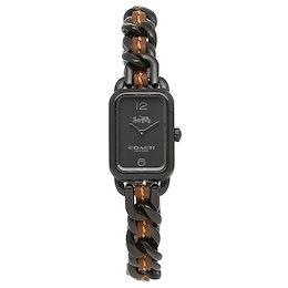 コーチ 時計 COACH 14502747 LUDLOW ラドロー レディース腕時計ウォッチ ブラック/ブラウン