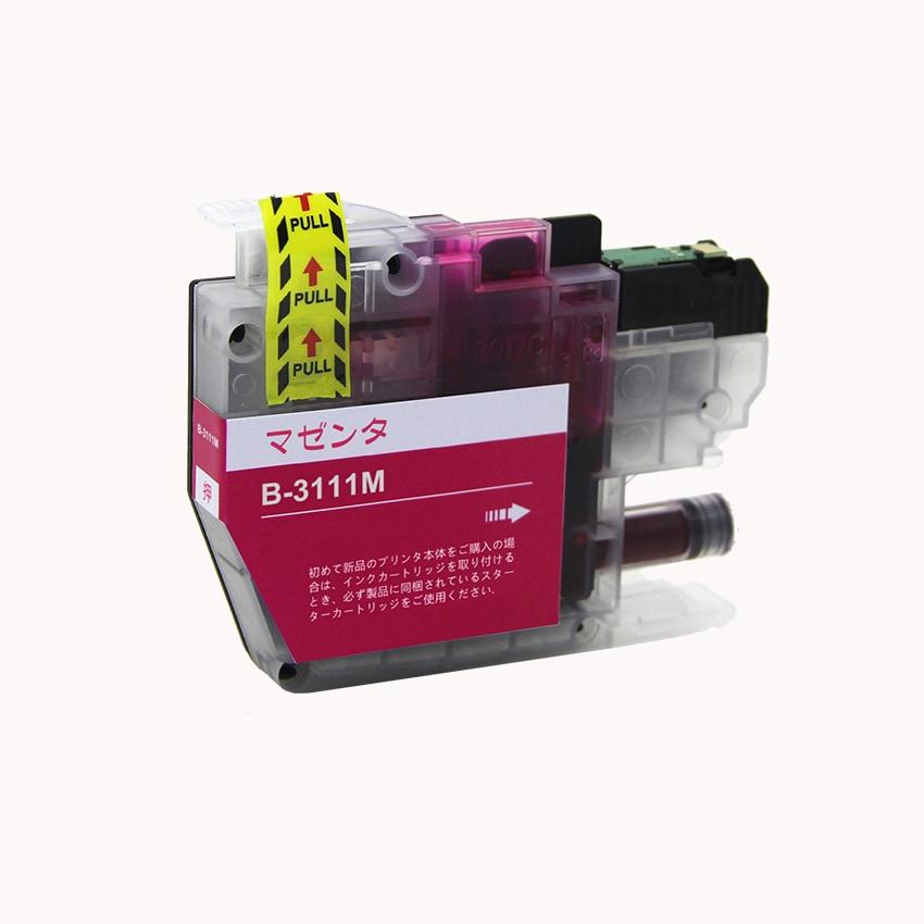 LC3111M 単品 マゼンタ BR社 プリンター用互換インク ICチップ付 残量表示