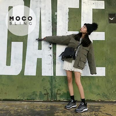 【MOCOBLING】 韓国ファッション ジャケット /可愛いジャケット - jk