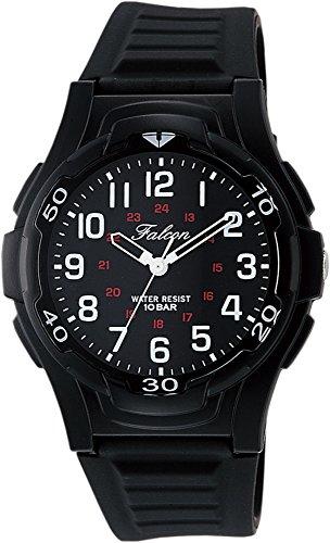 [シチズン Q &Q] 腕時計 アナログ 防水 ウレタンベルト VP84-854 メンズ ブラックブラック