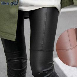 新しい秋冬韓国ファッションフェイクレザーズボンレディース新しいセクシーなスキニーPUレギンスパンツパンタロンフェム
