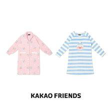【Kakao friends】カカオフレンズポーラーワンピース/Kakao friends pola one piece/2種・ポリエステル100%・KAKAO FRIENDS正規品