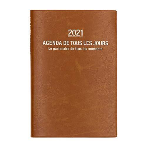 マークス 手帳 2021 スケジュール帳 ダイアリー ウィークリー・バーチカル 2020年10月始まり B6変型 グラン・ド・パリ 21ADR-CV04-CM