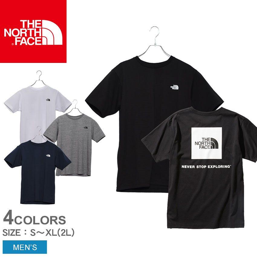 ザ ノースフェイス THE NORTH FACE 半袖Tシャツ ショートスリーブ スクエアロゴ Tシャツ S/S SQUEARE LOGO TEE NT32038 メンズ ノースフェース トップス