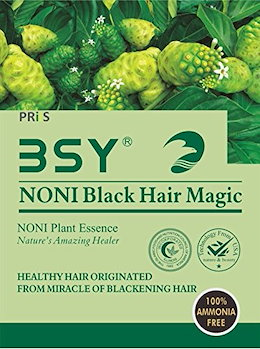 Veda Herbals Noni Black Hair Magic Shampoo Pack Of 4 (Black)