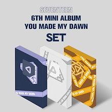(5%割引)韓国音楽 SEVENTEEN (セブンティーン) - YOU MADE MY DAWN (バージョン3種セット) (予約 発売日:2019.01.22以後) STEEN06MNKNP