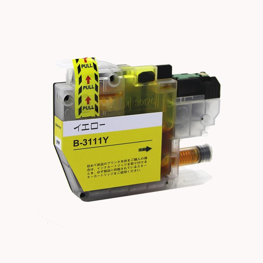 LC3111Y 単品 イエロー BR社 プリンター用互換インク ICチップ付 残量表示