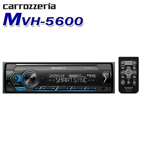 カロッツェリア(パイオニア) カーオーディオ 1DIN USB/Bluetooth MVH-5600 Bluetooth/USB/チューナー・DSPメインユニット MVH5600