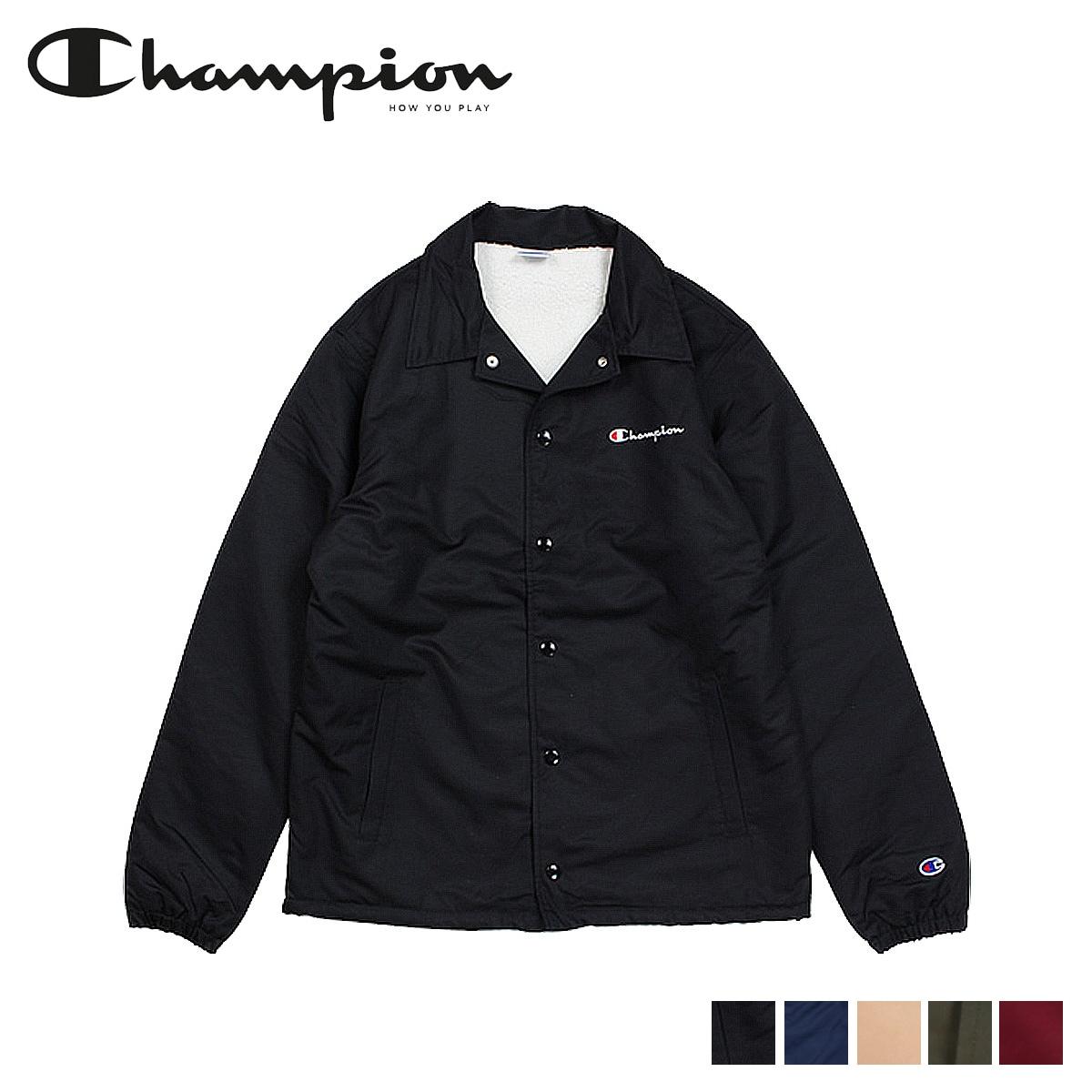 チャンピオン Champion ジャケット メンズ コーチジャケット COACH JACKET ACTION STYLE C3-L610 ブラック ネイビー