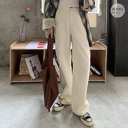 🔥SUPER SALE🔥【wansmall】 必須アイテム! 2color!  コーデュロイワイドパンツ/  サイズLまで!真冬でも暖かいパンツ!/ 韓国ファッション/ pt2810/