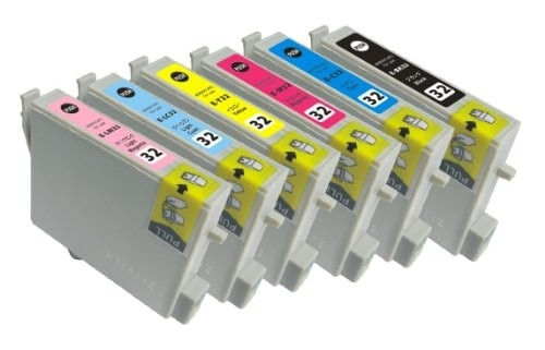 エプソン IC6CL32 互換インク 6色セット汎用インクカートリッジ