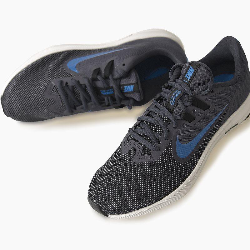 ナイキ nike スニーカー メンズ ランニング ジョギング シューズ 靴 スポーツ ダウンシフター 9 DOWNSHIFTER 9 AQ7481 011 黒