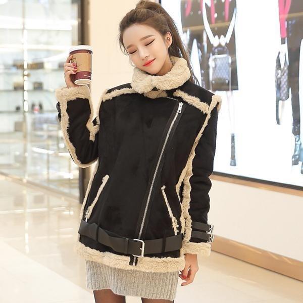 アクネムスタングJKジャケット デニム/ライダー / 韓国ファッション/ジャケット/秋冬/レディース/ハーフ/ロング/