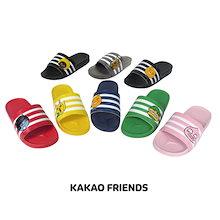 【Kakao friends】カカオフレンズ三線スリッパ―/Kakao friends 3 lines slipper/7種・230∼280㎜