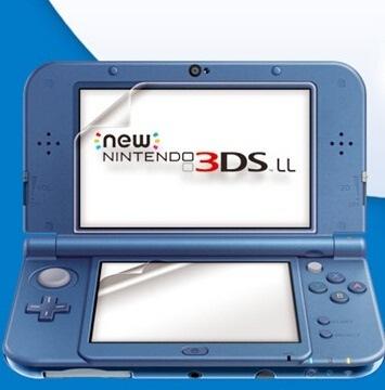 New ニンテンドー 3DS LL用液晶画面保護シールフィルム【管理番号:A354】